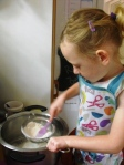Plum-a-licious Crumble Cake