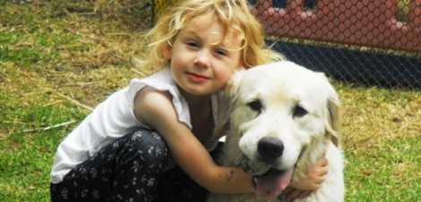 Livvy and Buddy - Best Friends